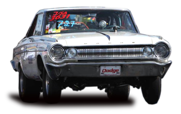 1964 Dodge Polara owned by Glen Appelgren 2009 Swedish National Record Holder with Denny's Aluminum Driveshaft