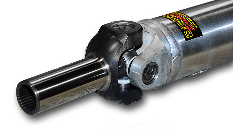 Denny's 1350 Aluminum Driveshaft with chromoly slip yoke