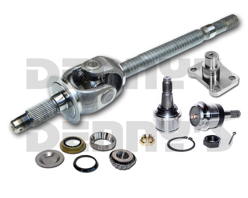 AXLES and FRONT END Parts 4X4  sc 1 st  Dennyu0027s Driveshaft & Dana Spicer and AAM 4x4 Front Axles - Driveline parts for 4 wheel ... markmcfarlin.com