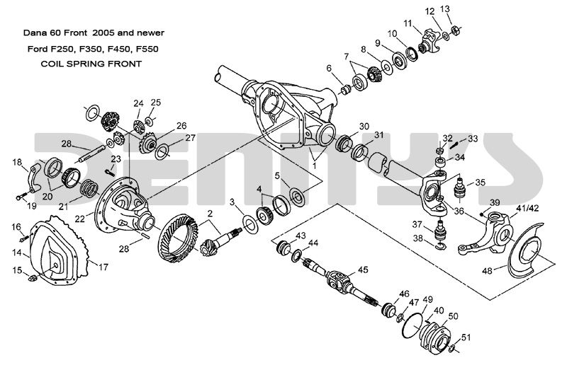 1978 jeep dana 44 front axle diagram 2003 f350 front axle diagram dana 60 front - ford 2005 and newer