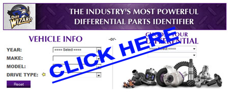 Use the Diff Wizard for Yukon Gear and Axle Parts at Denny's Driveshafts