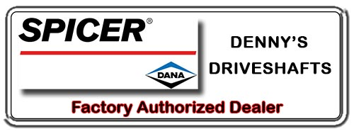 Denny's Driveshafts is a Factory Authorized DANA SPICER PARTS Dealer