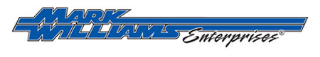 Denny's Driveshafts is an authorized dealer for Mark Williams Enterprises