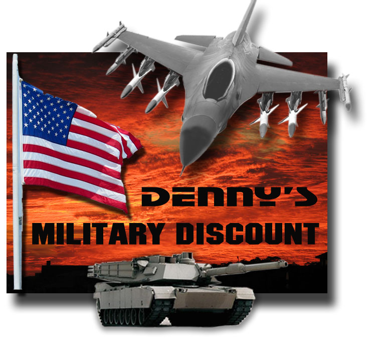 Denny's Driveshafts Military Discount