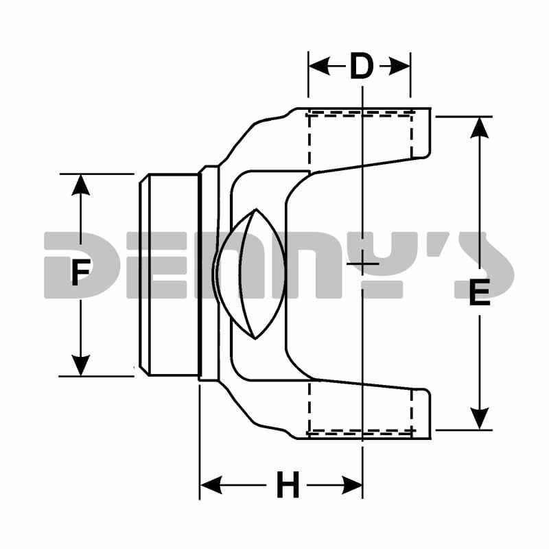 FREIGHTLINER TUBE YOKE SP-3-28-97