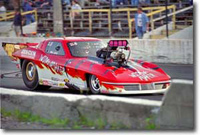 Mike Janis Pro Mod Race Car - Denny's Nitrous Ready Driveshafts