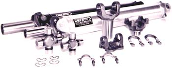 Denny's Street Rod Driveshafts in steel or aluminum