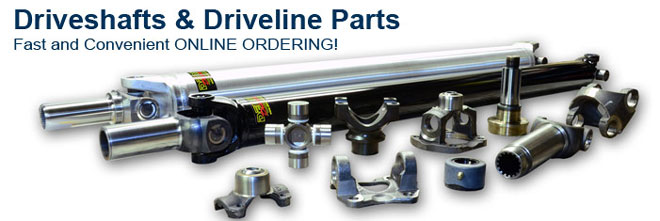Driveshafts and Driveline Parts