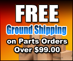 Free Shipping on Parts Orders Over $99.00