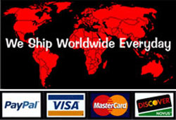 We Ship Worldwide Every Day