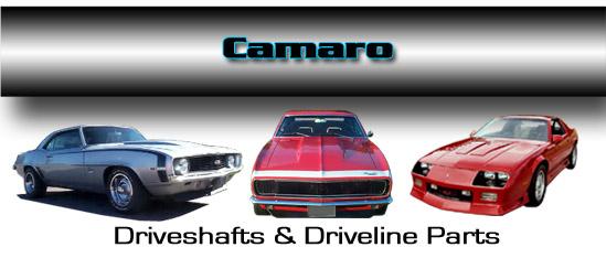 Dennys Driveshaft Camaro steel and aluminum driveshafts and