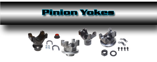 Denny's Driveshafts Pinion Yokes and Transfer Case Yokes - for all