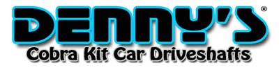Cobra Kit Car Driveshafts
