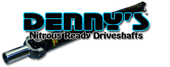 Nitrous Ready 1350 Series Driveshafts