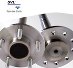 REAR AXLE SHAFTS - DANA SVL
