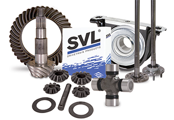 SVL GEARS AXLES