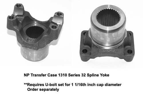 Spicer 2 4 4191 1310 Series Yoke 32 Spline Fits Np203 And 205