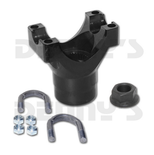 9509852 Chromoly Pinion Yoke 1350 series fits Ford 9 inch with 35 spline pinion Pro Gears