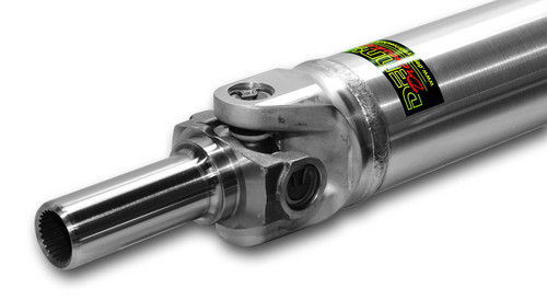 Denny's STR-35A Street Rod Driveshaft 3.5 inch ALUMINUM complete with Dana Spicer U-joints and 1310 slip yoke