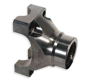 1350 Chrome Moly Pinion Yoke for 8.5 inch GM 10 bolt 39003 Mark Williams - FREE SHIPPING