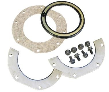 DANA SPICER 706207X - Closed Knuckle Wiper SEAL KIT for DANA 25, 27 and 44 with SMALL Ball 8 Bolts