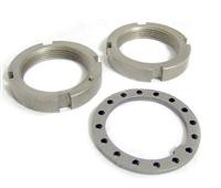DANA SPICER 28068X Spindle Nut Set for DANA 30, 44 and GM 8.5 inch FRONT 1.625-16 thread size