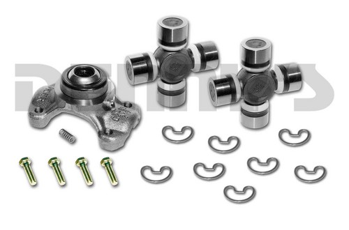CV-355-3 Rebuild Kit for JEEP with 1310 series Front/Rear CV Driveshaft includes Spicer greaseable 211355X CV Centering Yoke and (2) 5-1310X NON greaseable U-Joints