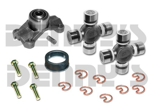 CV-996-1 Rebuild Kit for 2003 to 2006 JEEP TJ RUBICON with OEM 1330 series NON GREASEABLE Front CV Driveshaft includes Dana Spicer 211996X NON Greaseable CV Centering Yoke (2) 5-1330X NON greaseable U-Joints (1) 2-86-418 Rubber Boot