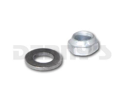 8510 PINION NUT and WASHER Set fits GM 9.5 inch 14 BOLT REAR