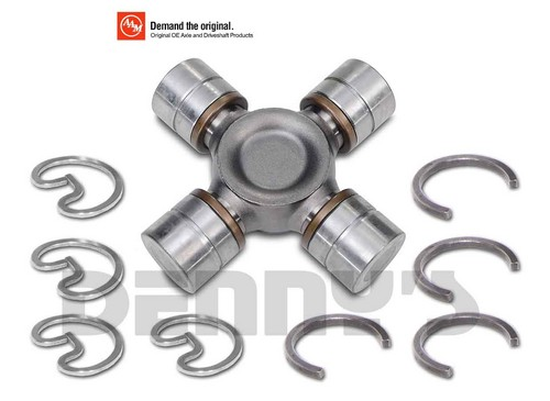 AAM 74081555 Universal Joint 1555 series fits DODGE 2500/3500 AAM Rear Driveshaft and 9.25 Front Axles