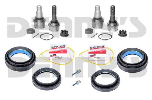Dana Spicer 2020314 Ball Joint and Seal Kit 1999 to 2004 Ford F-250, F-350 and Excursion up to 2005 with Dana 50 front axle RIGHT and LEFT Side Parts Included