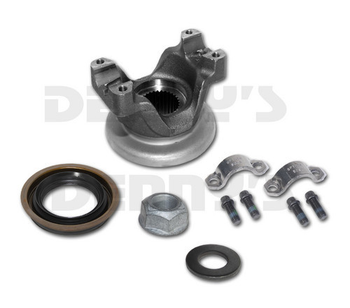 9761661 PINION YOKE Kit 1410 Series OEM strap and bolt syle fits Chevy and GMC Corporate 10.5 inch 14 Bolt Full Floater rear ends 1999 - 2011