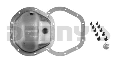 Dana Spicer 707014X Steel Differential COVER and GASKET 1971 to 1984 DODGE W100, W200, Ramcharger, Trail Duster with DANA 44 Front Axle