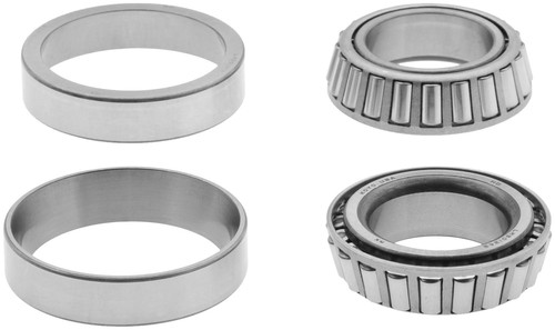 Dana Spicer 706016X Diff BEARING KIT for 1984 to 1996 Jeep XJ, YJ, TJ with Dana 30 Front includes (2) LM501349 and (2) LM501314