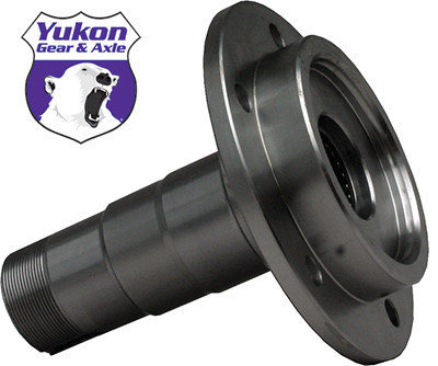 Yukon YA W38105 Front spindle for HD axles for '74-'82 Scout with disc brakes.