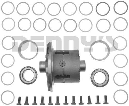 Dana Spicer 2011841 DANA 80 TRAC LOK Differential Carrier Limited Slip Positraction Loaded Assembly for 1994 to 2002 Dodge Ram 2500, 3500 with 1.5 inch 35 spline axles fits 4.10 ratio and up - FREE SHIPPING