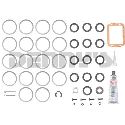Dana Spicer 706936X SHIM Kit for Pinion bearings fits 1984 to 1996 Jeep with Dana 30 Disconnect Front Axle