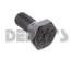 Dana Spicer 41221 RING GEAR BOLT 3/8-24 RH Grade 8 hex head fits Dana 30 front and rear ends