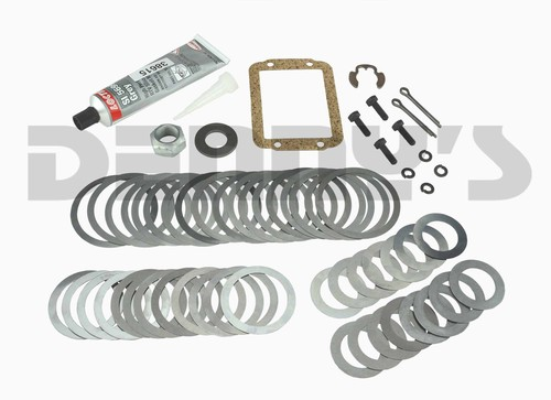Dana Spicer 706938X SHIM Kit for Diff and Pinion bearings fits 1984 to 1996 Jeep with Dana 30 Disconnect Front Axle