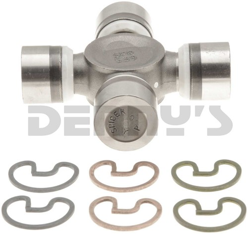 Dana Spicer 5-7438X NON Greaseable u-joint 1330 Series fits 1980 to 1989 Ford F250, F350 FRONT 2 joint DRIVESHAFT 1.062 and 1.125 Bearing Caps