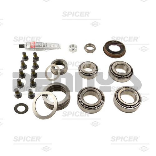 DANA SPICER 2017109 Differential Bearing Master Kit Fits 2008 to 2016 Jeep Wrangler JK with Dana 44 rear