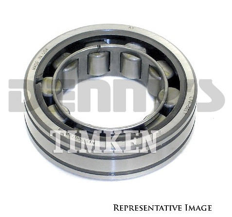 Timken 6408 Rear Axle BEARING 2 531 inch OD for use with