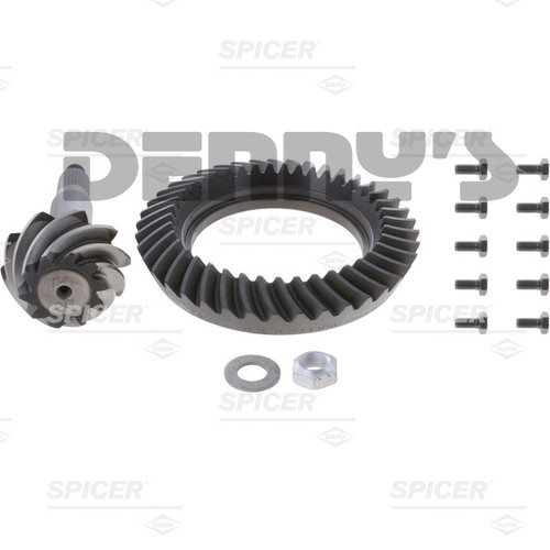 Dana Spicer 660319-5 Ring and Pinion Gear Set Kit 4.10 Ratio (41-10) for Dana 50 Reverse Rotation Front - FREE SHIPPING