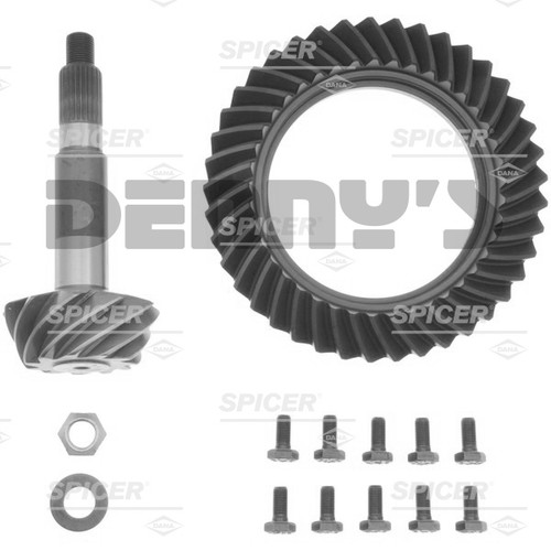 Dana Spicer 76127-5X Ring and Pinion Gear Set Kit 3.73 Ratio (41-11) for Dana 50 Reverse Rotation Front - FREE SHIPPING