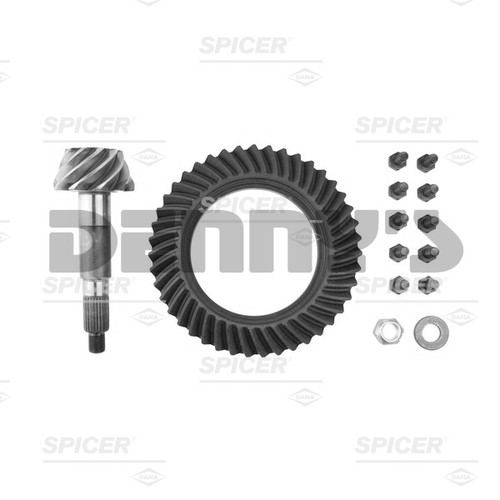 Dana Spicer 76136-5X Ring and Pinion Gear Set Kit 4.30 Ratio (43-10) for Dana 50 Reverse Rotation Front - FREE SHIPPING