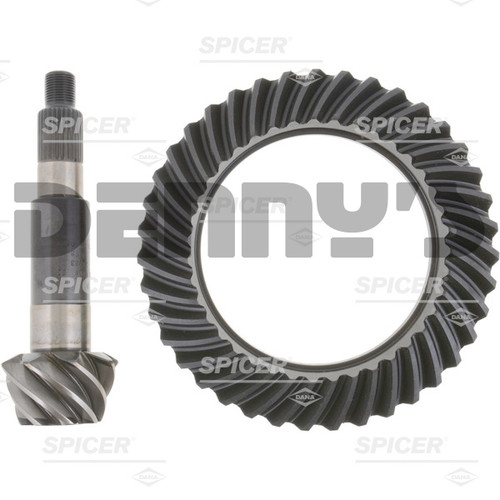 Dana Spicer 25334X Ring and Pinion GEAR SET 4.88 ratio fits Ultimate Dana 60 standard rotation REAR end