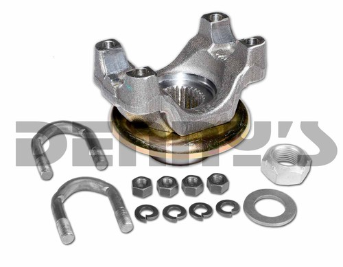 992071 FORGED STEEL PINION YOKE 1350 series 3.100 inches tall with hardware fits Dodge 8.75 inch Car and Truck rear ends with a 29 spline pinion