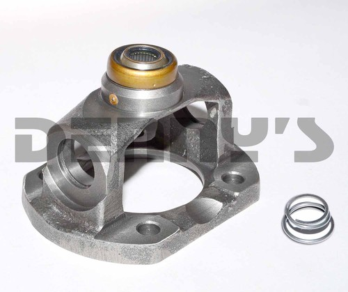 6313125F Double Cardan CV Flange Yoke 1330 series for early Lincoln fits .625 stud 3.125 inch female pilot