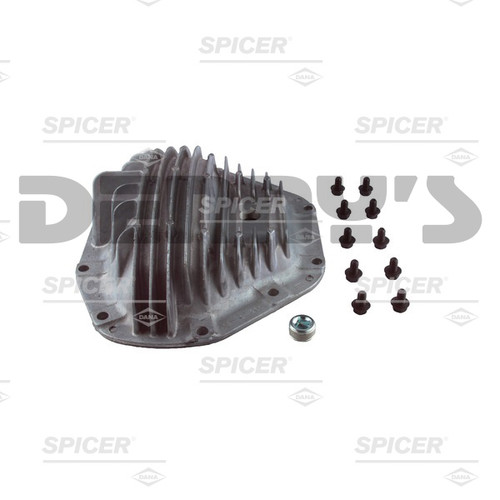 Dana Spicer 2013834 Finned Aluminum Differential Cover Kit for Dana 80 rear end fits Chevy, GMC, Dodge, RAM and Ford