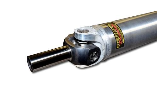 Denny's AL4-1350-64 Aluminum Driveshaft with Sonnax Chromoly slip yoke 4 inch OD 1350 series custom built up to 64 inch CL